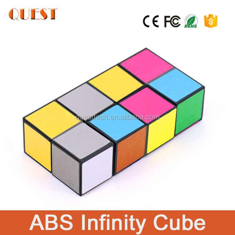 Chinese supplier trending kids toys plastic fidgure fidget toy stress cube infinity cube