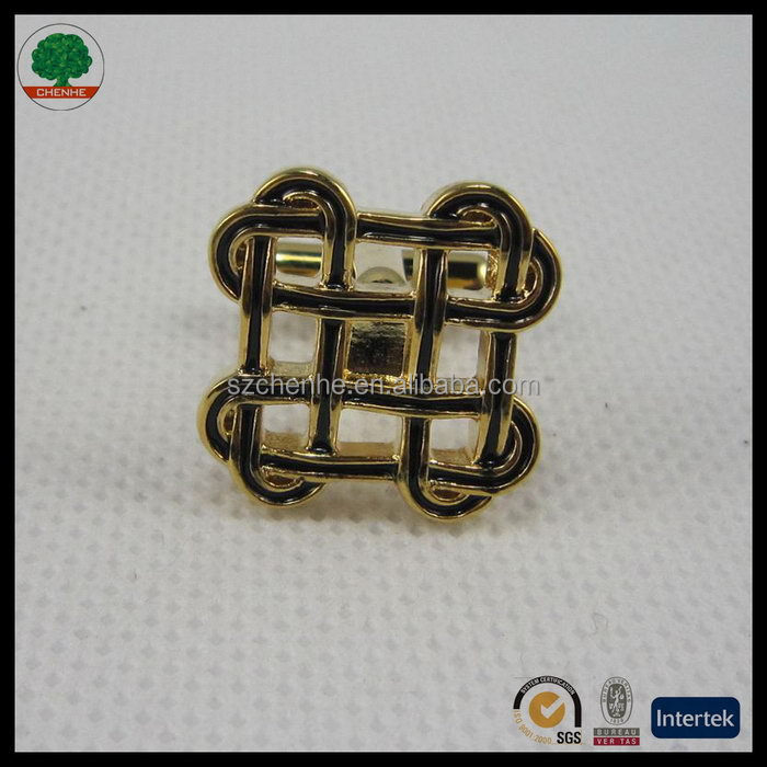 Excellent quality classical accessory brass arabic men's cufflinks