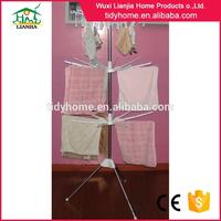 Hot selling movable hanging clothes rack with drawers