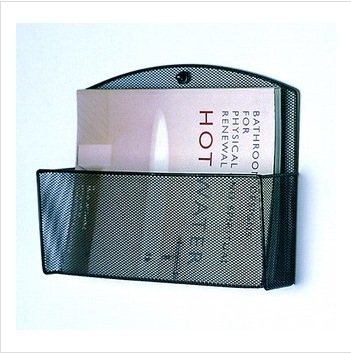 Metal Mesh Magazine File Holder