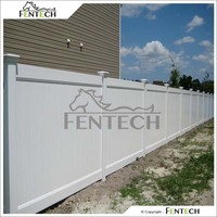 1.8m high full privacy fence