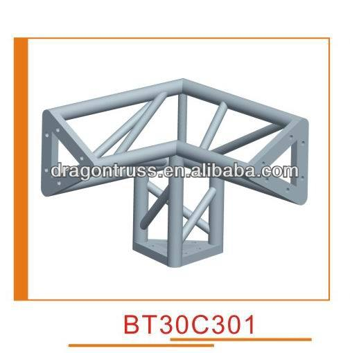 Factory prices, aluminum truss - three side corner