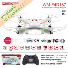 wholesale 2.4G 4 channel 6 axis rc quadcopter rc drone