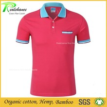 Sportswear Clothing Wholesale hemp Polo T Shirt For Men