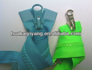 special resin Plastic Zippers