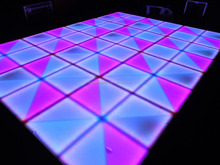 Waterproof disco ktv wedding using RGB color changing led brick light