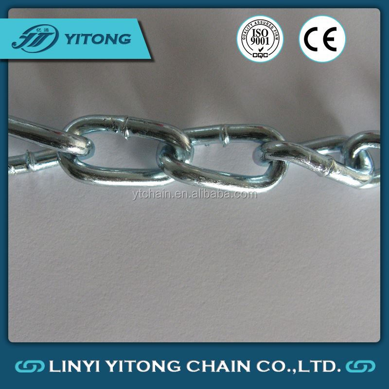 2mm Stainless Steel NACM1990 Machine Chain Twist Link Chain