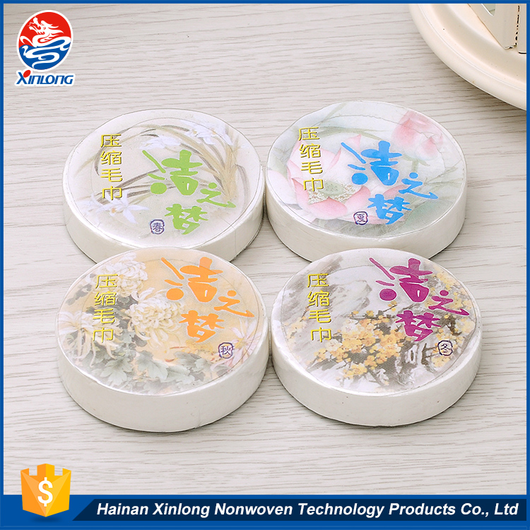 Lowest price widely used /mini magic tissue/pill compressed towel on sale