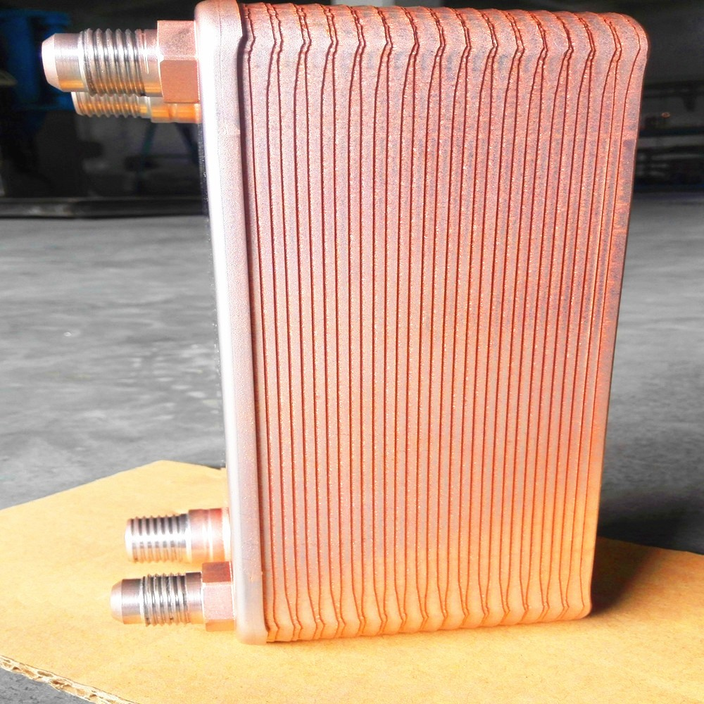 high effective heat pump heat exchanger