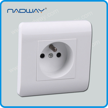 home 10A 250V EU/IEC standard 3 round pins energy saving switch