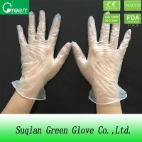 medical disposable vinyl examination gloves with ce