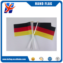 2018 World Cup Use Custom Size High Qualiy Germany hand flag