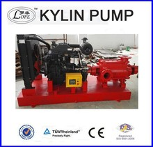 centrifugal diesel fire pump/diesel engine water pump set