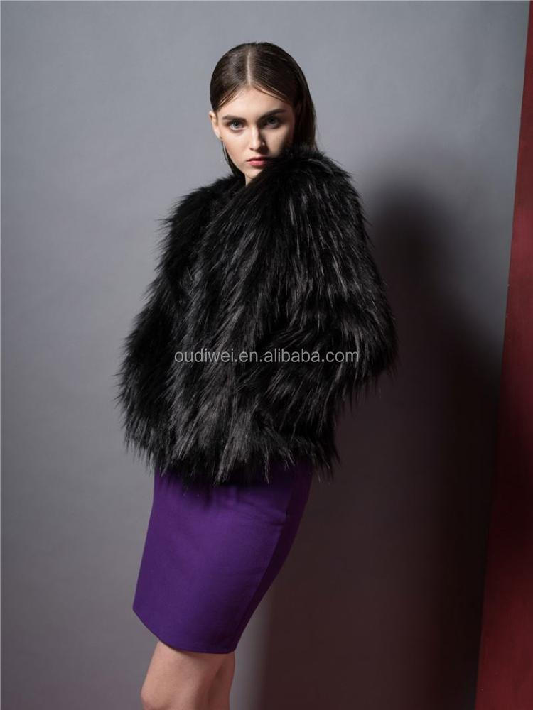 High end special design wool coats ladies with different size