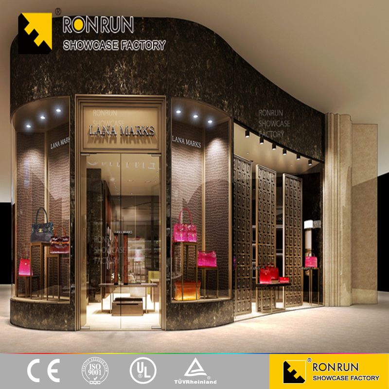 luxury shop design hot sale clothing retail store fixtures design cloth store display