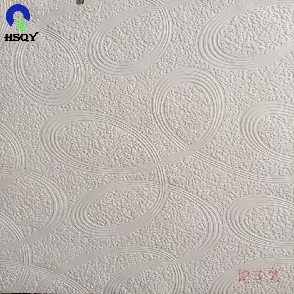 Factory Offer PVC Ceiling Embossed Film Used for Gypsum Board