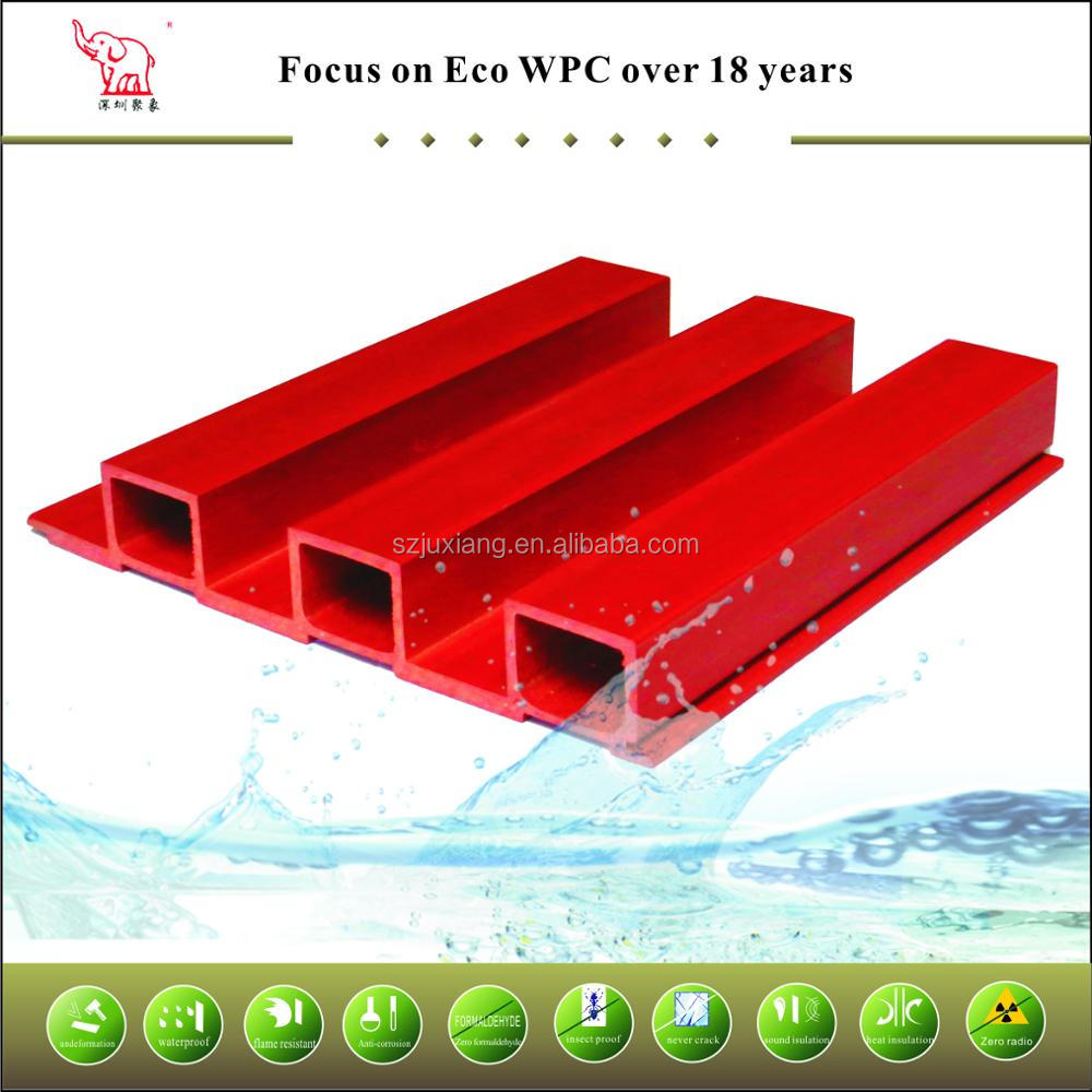 WPC PVC outdoor exterior wall siding panel for building