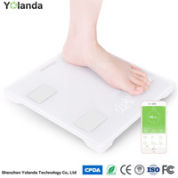 Tempered Glass Multifunction Fat Scales Electronic Weight Scales Measurement of Body Weight,fat,Calories
