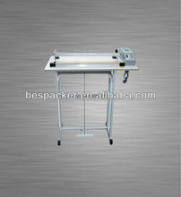 SF Series Foot Press Cutting Sealing Cutting Machine bag sealer with cutter