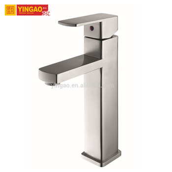 M05-2S Nice design faucet round stone bathroom sink faucet sets