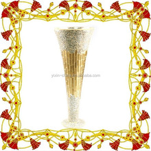 Glitter Vase Wholesale Mosaic Glass Vase With Foot