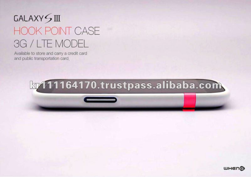 Hard Case for SAMSUNG Galaxy S3 I9300 (White / Red)