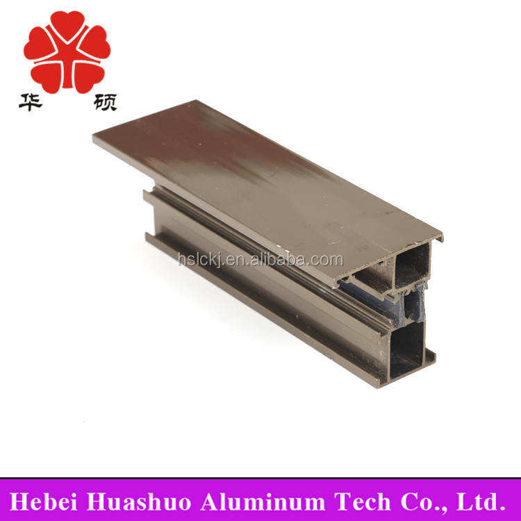 4080 aluminium extrusion of aluminum double swing door