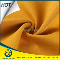 Wholesale fabric Yellow Elastane Ponte rayon Fabric For Summer Trousers