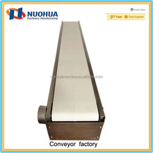 Stainless steel food grade belt conveyor/food processing assembly line