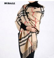 Scarves Plaid British style cappa cape wraps scarf muffler neckerchief turban Hijab kerchief stole shawl