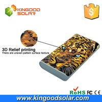 2016 Newest 18000mah Power Bank 3D model gift customize pattern promotional power banks for iPhone and smart devices