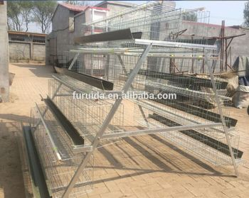 Steel Structure Poultry Farm High Quality Chicken Layer Cage For Sale