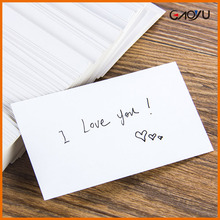Words Card Hot Sale Retro Kraft Paper Blank Box DIY Graffiti Card/Postcard