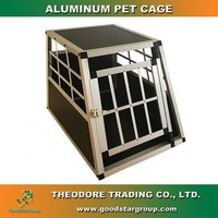 Animal House bird cage Aluminum pet cage single door large animal puppy dog cat house den and nest kennel crate