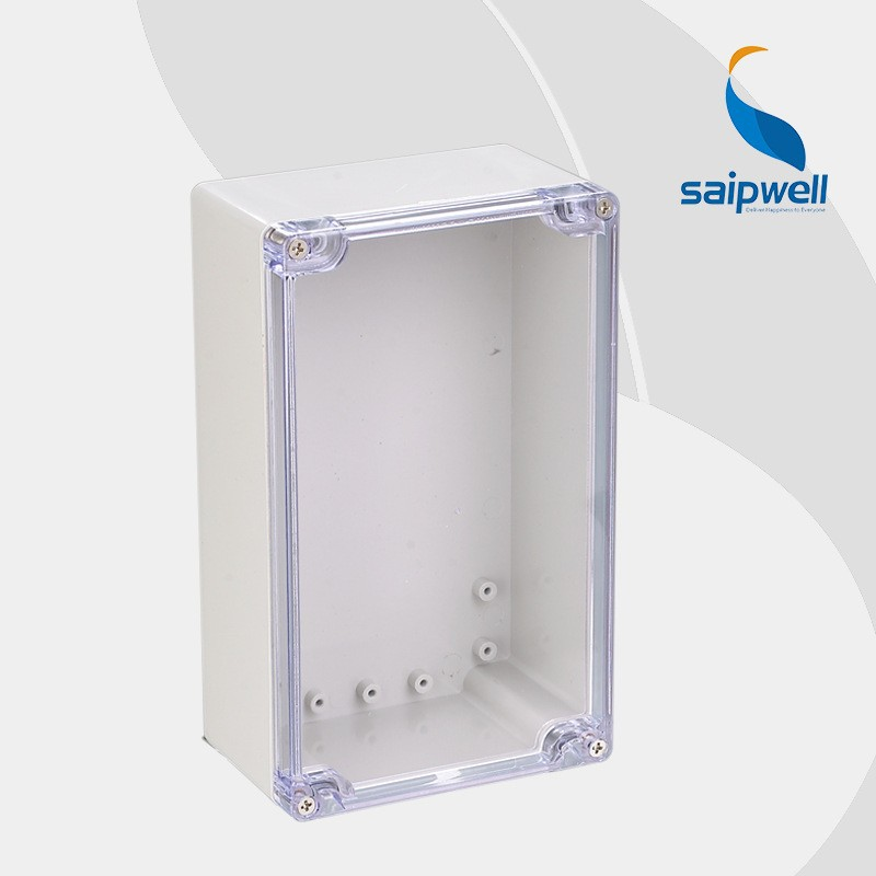 Saip/saipwell high quality ABS solid cover/clear cover waterproof electrical junction box cover IP66 SP-F1 200*120*75mm