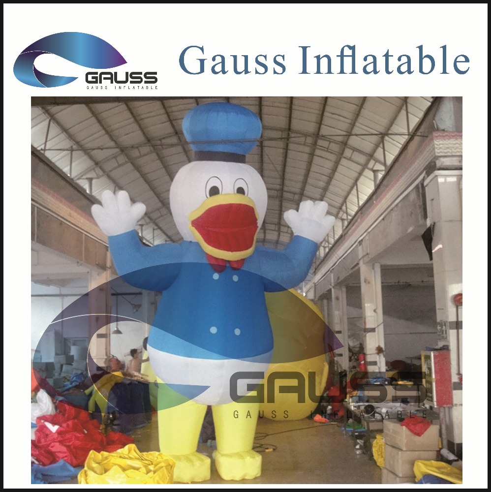 Inflatable duck outdoor activity cartoon/advertising cartoon/inflatable cartoon