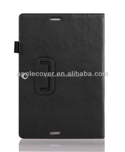 Hot selling High Quality Leather case for iPad Mini with card slots , For apple ipad Mini cover leather