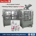 3-IN-1 Pure Water And Mineral Water And Carbonated Drink Filling Machine