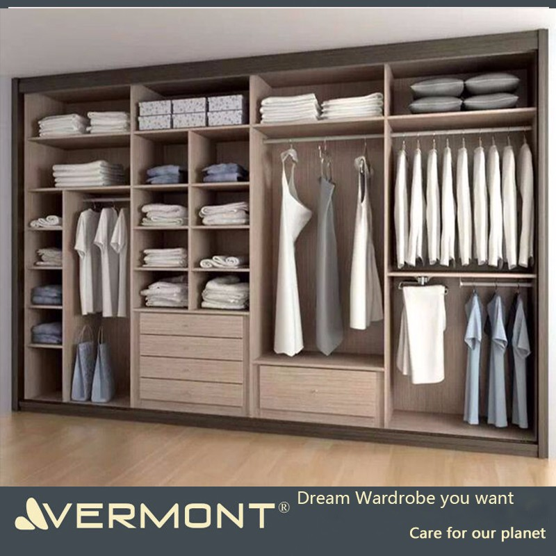 2018 Customized Walk in Wardrobe for your choice