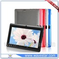 Allwinner A33 7 inch touch screen tablet with bluetooth
