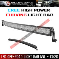 50 inch 288W curved LED Cree Light Bar with Stainless Steel Mounting Bracket for Jeep