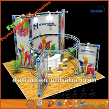 portable TradeShow Booths Display, Portable truss exhibition booths system