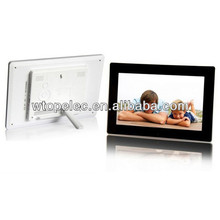 ideal gift 10 inch digital photo frames with 1024*600 resoultion ROHS CE Shenzhen factory support customization