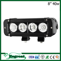 Factory Cheap Price 8 Inch 40W UsCree Led Police Light Bar Light