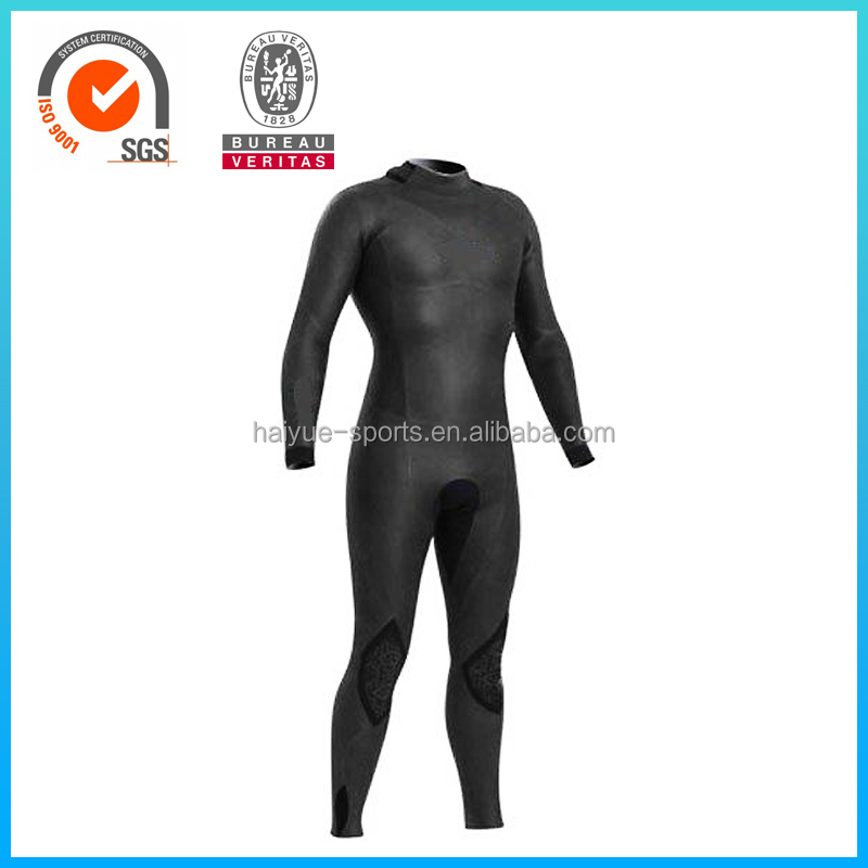 2016 New design neoprene smooth skin rubber surfing wetsuit