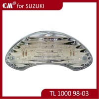 Clear Smoke Motorcycle Spare Part Led Tail Light For Suzuki TL1000