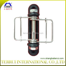 Electric fence Corner Insulator for Polytape up to 40mm/Electric Fence Wood Post Tape Connector