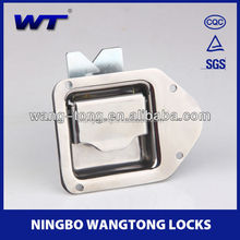 W-02 stainless steel keyless door slam lock