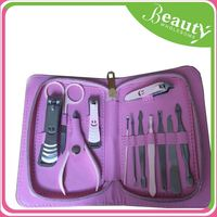 Health and beauty nail clipper set h0tKF professional manicure pedicure tool sets for sale