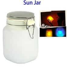 New Arrivals Solar Powered Sun Jar Bottle Night Lamp for Decoration